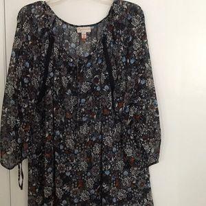 Woman 2X blouse 100% polyester